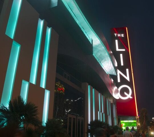 The LINQ Downtown