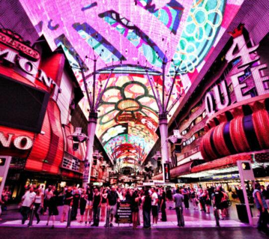 The Fremont Experience Downtown Las Vegas